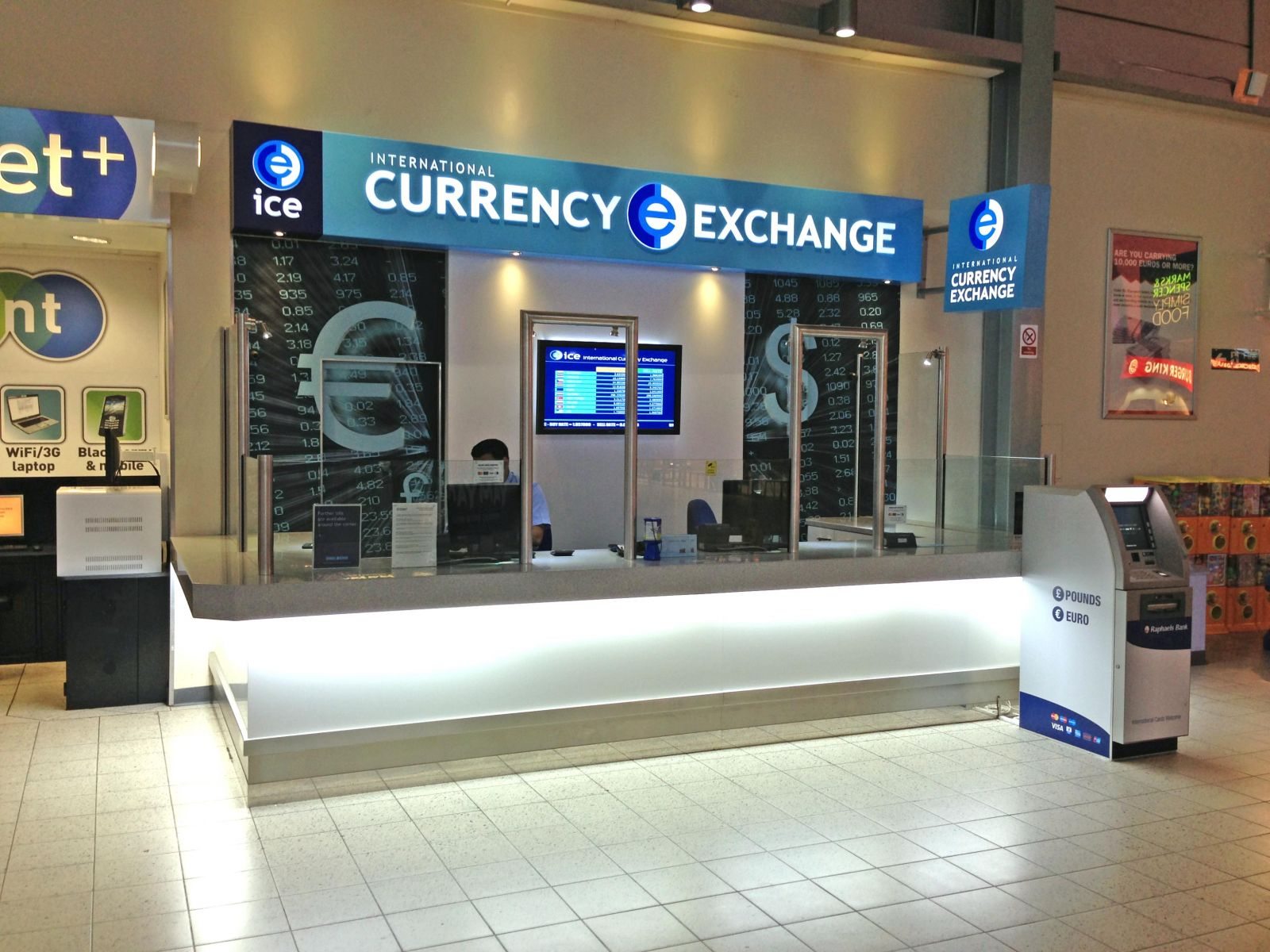 Currency Exchange Rate Table